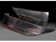 GTR Style Carbon Fiber rear add-on For Infiniti G35 Coupe