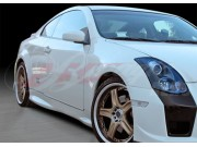 GTR Style Side Skirts For Infiniti G35 Coupe