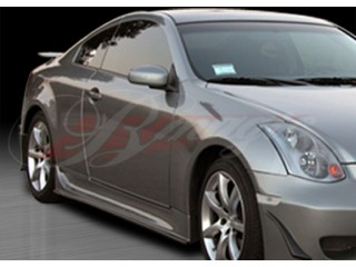 Wondrous Series Side Skirts For 2003-2007 Infiniti G35 Coupe