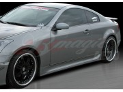 Wonderous Series Side Skirts For 2003-2007 Infiniti G35 Coupe