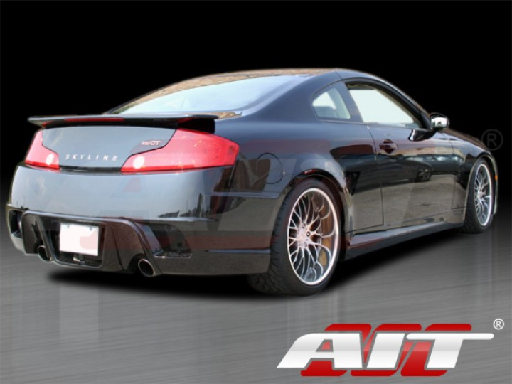 Spec K Style Side Skirts For 2003 2007 Infiniti G35 Coupe