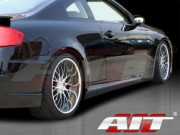 Spec-K Style Side Skirts For 2003-2007 Infiniti G35 Coupe