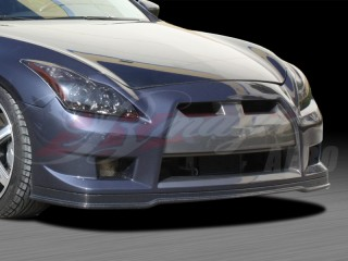 GTR Style Front Bumper with carbon fiber lip For 2008-2012 Infiniti G37 Coupe
