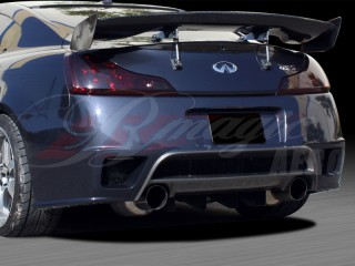 GTR Style Rear Bumper Cover For 2008-2012 Infiniti G37 Coupe