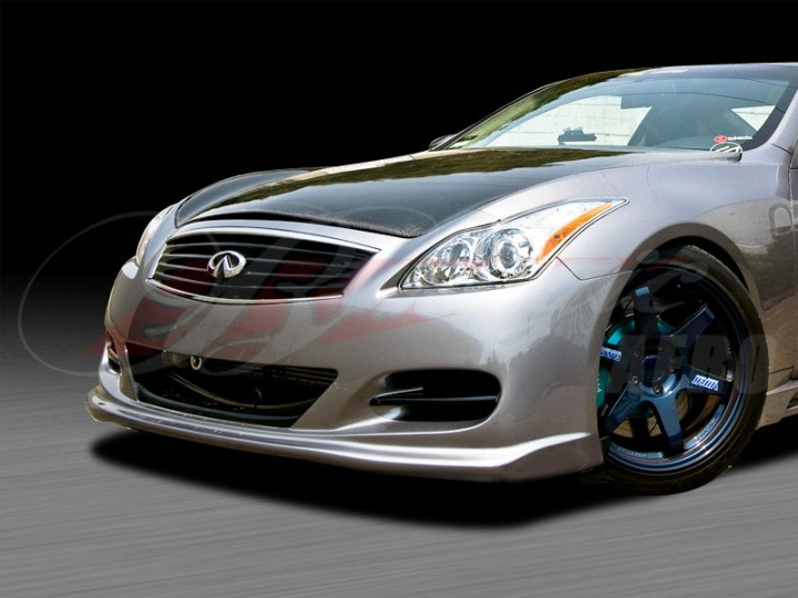 S Tech Style Front Bumper Cover For 2008 2012 Infiniti G37 Coupe