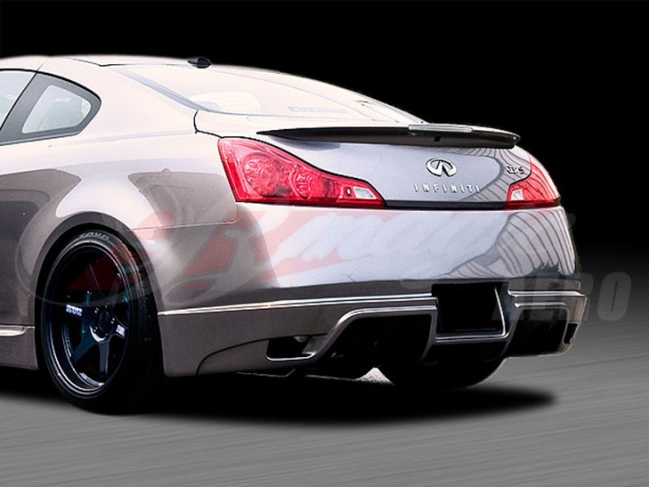 S Tech Style Rear Bumper Cover For 2008 2012 Infiniti G37 Coupe