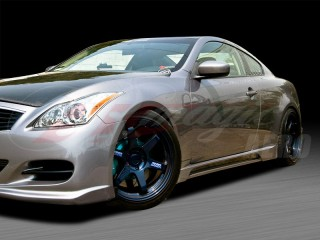 S-tech Style Side Skirts For 2008-2012 Infiniti G37 Coupe