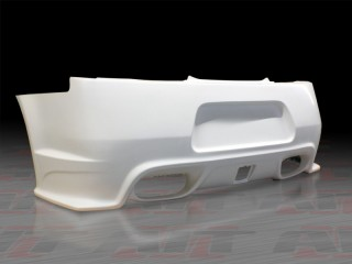 ZTS Style Rear Bumper For 2008-2012 Infiniti G37 Coupe