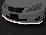 DL Series Polyurethane Front Underbody Spoiler For Lexus IS 2011-2013