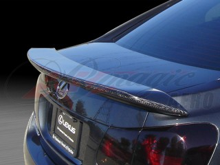Swish Series Carbon Fiber Rear Trunk Lid Spoiler For Lexus GS 2006-2012