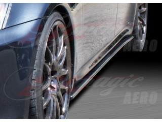 DL Series Carbon Fiber Side underbody spoiler For Lexus IS 2006-2013