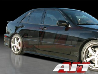 Waldo Style Side Skirts For Lexus IS300 2000-2005