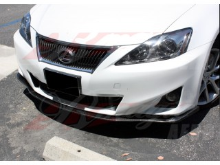 DL Series Carbon Fiber Front Under Chin Spoiler For Lexus IS 2011-2013