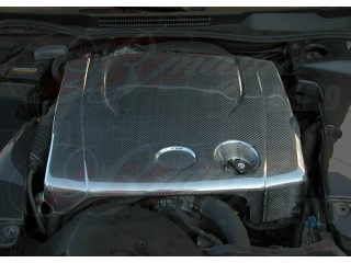 Carbon Fiber Engine Dust Cover For Lexus IS250 2006-2013