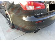 DL Series Carbon Fiber rear add-on For Lexus IS-F 2006-2013