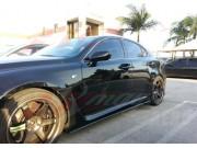 DL Series Carbon Fiber Side underbody spoiler For Lexus IS-F 2006-2013