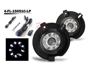 Factory Fog Lamp Replacement with Daytime Running LEDs - Ford Explorer 2002-2005