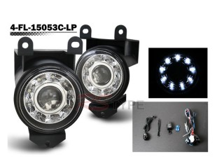 Factory Fog Lamp Replacement with Daytime Running LEDs - GMC Denali 2001-2006