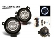 Factory Fog Lamp Replacement with Daytime Running Halo Ring - Ford Ranger 2002-2005