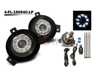 Factory Fog Lamp Replacement with Daytime Running LEDs - Ford Ranger 2002-2005