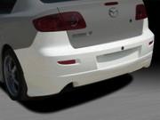 KS Style Rear Bumper Cover For Mazda 3 2004-2009 Sedan