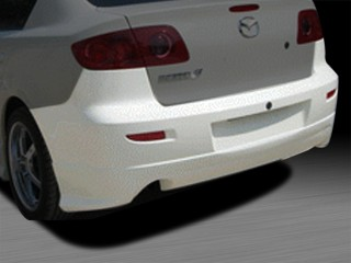 KS Style Rear Bumper Cover For Mazda 3 2004-2009 Sedan