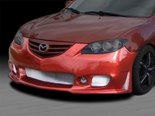 Zen Style Front Bumper Cover For Mazda 3 2004-2009 Sedan