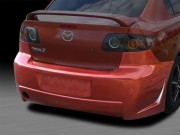 Zen Style Rear Bumper Cover For Mazda 3 2004-2009 Sedan