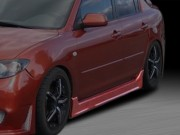 ZEN Style Side Skirts For Mazda Protege 2001-2003