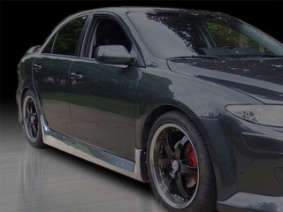 KS Style Side Skirts For Mazda 6 2003-2008