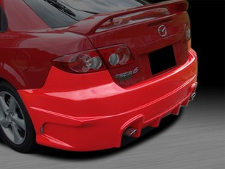 MAX Style Rear Bumper Cover For Mazda 6 2003-2008