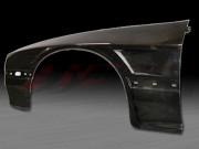 D1 Series wide Front Fenders For Mazda RX-7 1986-1991