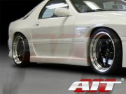 G4 Style Side Skirts For Mazda RX-7 1989-1991