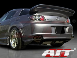 ABF Style Rear Bumper Cover For Mazda RX-8 2003-2008