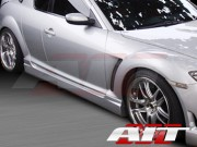 I-Spec Style Side Skirts For Mazda RX-8 2003-2008