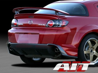 MS Style Rear Bumper Cover For Mazda RX-8 2003-2008