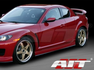 MS Style Side Skirts For Mazda RX-8 2003-2011