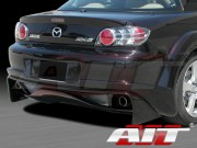 VS-GT Style Rear Bumper Cover For Mazda RX-8 2003-2008