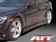 VS-GT Style Side Skirts For Mazda RX-8 2003-2008