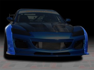 MS Style Front Fender Flares For Mazda RX-8 2009-2011
