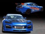 MS Style Complete Wide Body Kit For Mazda RX-8 2009-2011
