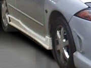 ZEN Style Side Skirts For Mercury Cougar 1999-2001