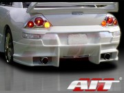 BMX Style Rear Bumper Cover For Mitsubishi Eclipse 2000-2005