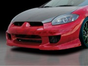 BLACKOUT-2 Front Bumper Cover For Mitsubishi Eclipse 2006-2012