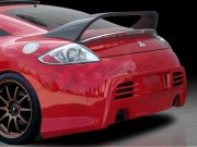BLACKOUT-2 Rear Bumper Cover For Mitsubishi Eclipse 2006-2012