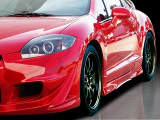 BLACKOUT-3 Side Skirts For Mitsubishi Eclipse 2006-2012