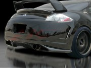BLACKOUT-1 Rear Bumper Cover For Mitsubishi Eclipse 2006-2012