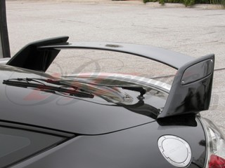 BLACKOUT carbon wing For Mitsubishi Eclipse 2006-2012