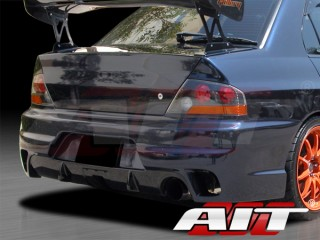 I-spec Style Rear Bumper Cover For Mitsubishi Evolution 2003-2007