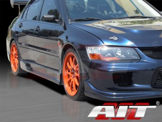 I-spec Style Side Skirts For Mitsubishi Evolution 2003-2007